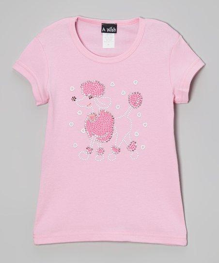 Pink Poodle Tee – Toddler & Girls