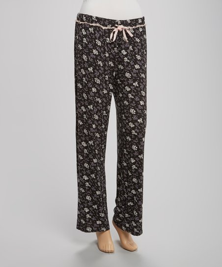 Black Somers Pajama Pants - Women