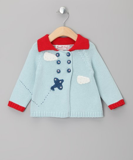 Blue Plane Pram Coat - Infant