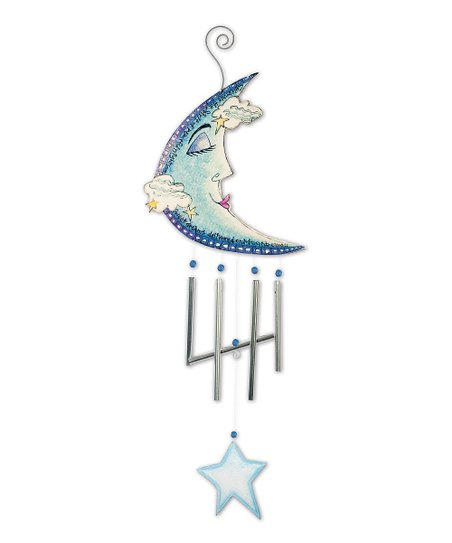 Blue Moon & Star Wind Chime