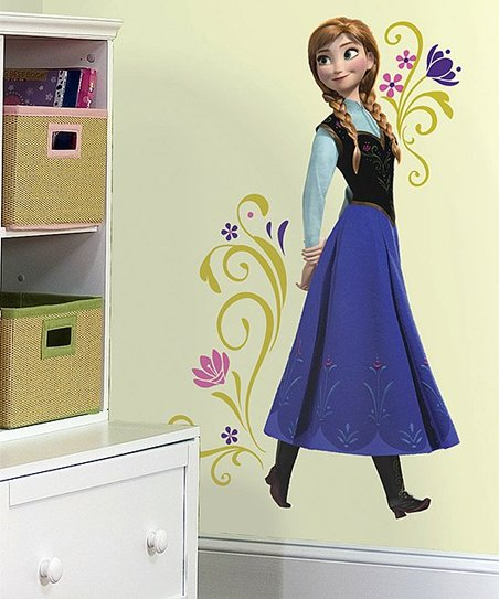 Frozen Anna Peel & Stick Giant Wall Decal