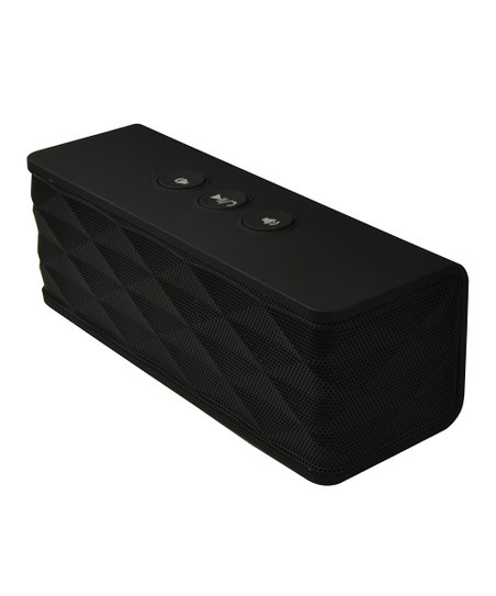 Black Portable Bluetooth Speaker