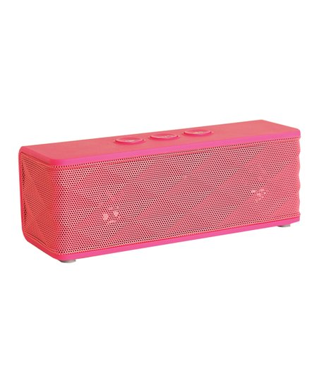 Pink Portable Bluetooth Speaker