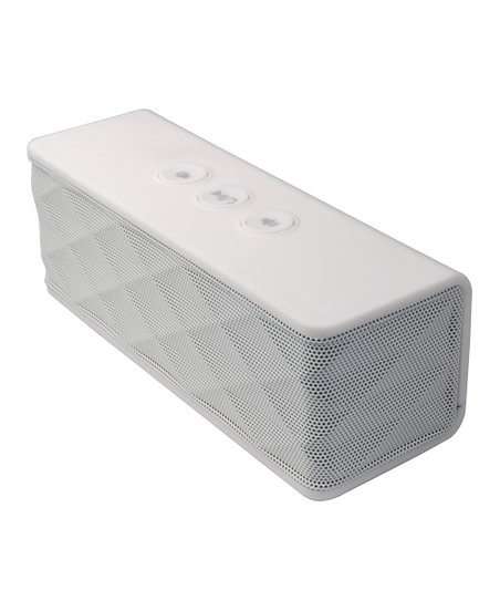 White Portable Bluetooth Speaker