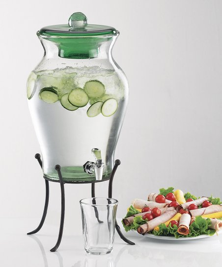 Green Baja Beverage Dispenser