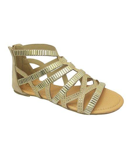 Beige Zenia Gladiator Sandal