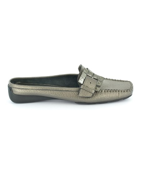 Pewter Checkmate Mule