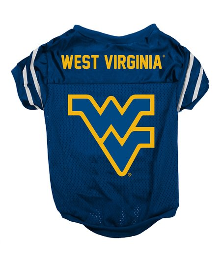 West Virginia Mountaineers Pet Jersey