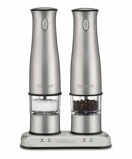 Rechargeable Salt & Pepper Mill Set