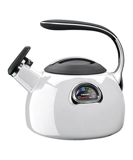 White Perfectemp Teakettle