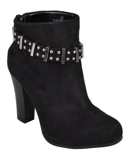 Black Melody High Heel Ankle Boot