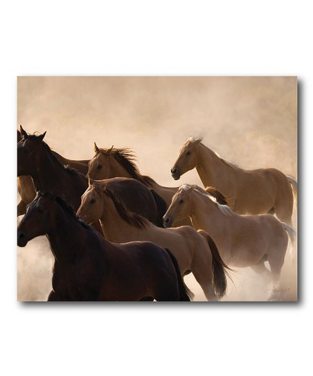 Horse Group Canvas