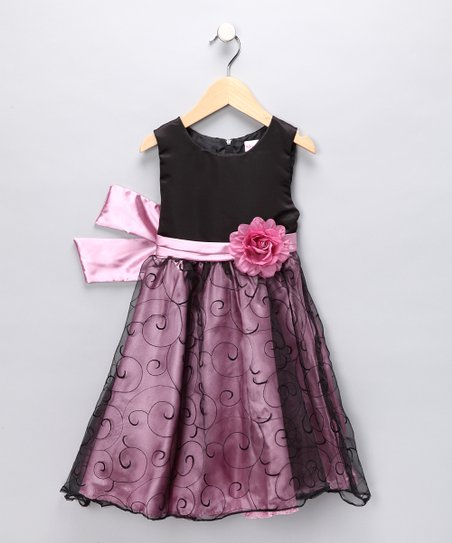 Pink Rose Dress - Toddler