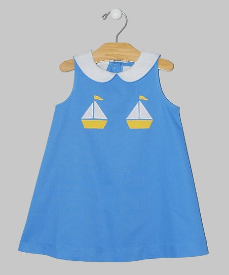 Blue Sail A-Line Dress - Toddler & Girls
