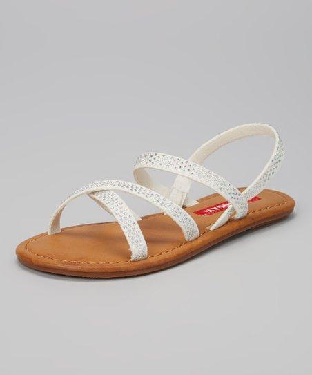 White Gigi Sandal