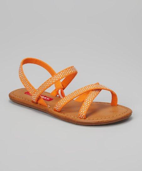 Orange Gigi Sandal