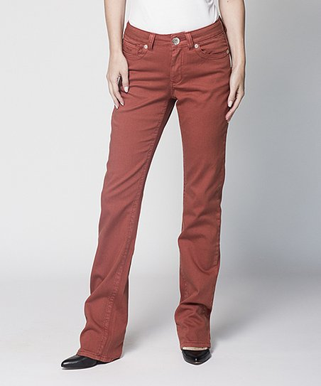 Coral Anael Straight-Leg Jeans
