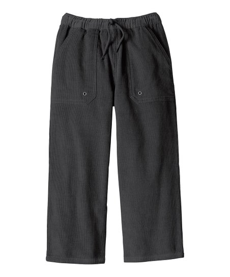 Artifact Gray Carefree Corduroy Pants - Infant, Toddler & Boys