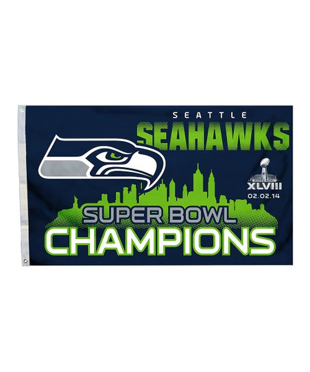 Seattle Seahawks Grommet Flag