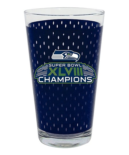 Seattle Seahawks Jersey 'Champions' Mixing Glass