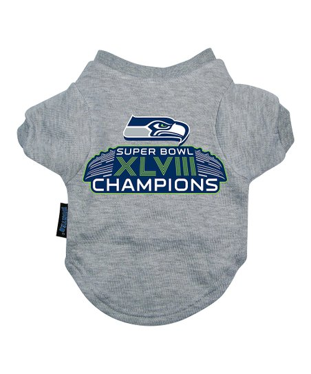 Seattle Seahawks 'Championship' Pet Tee