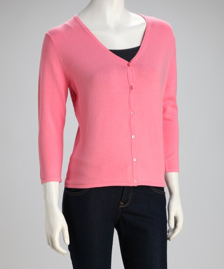 Candy Pink Cardigan