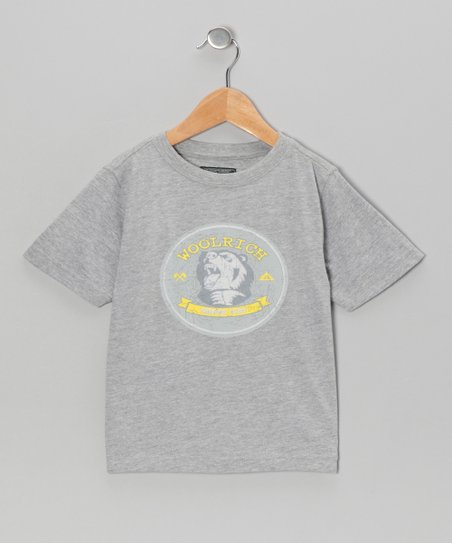 Heather Gray 'Woolrich' Tee - Boys