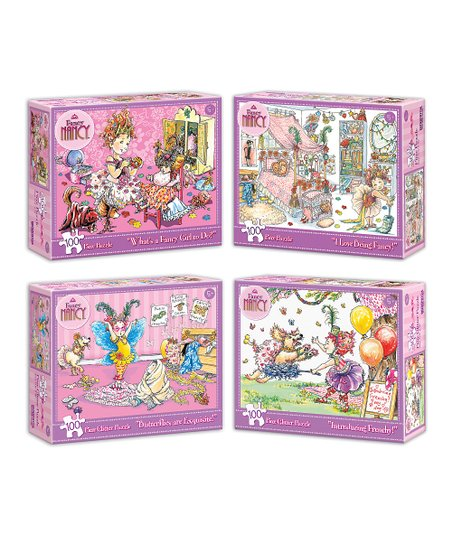Fancy Nancy Puzzles - Set of Four