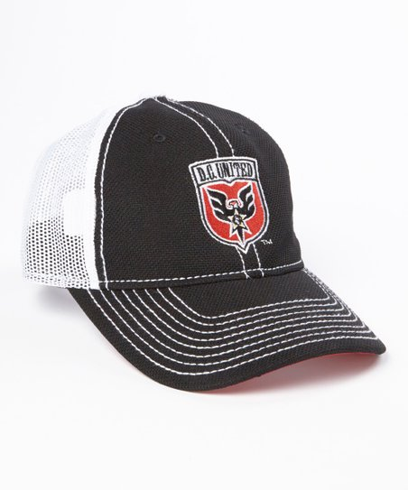 DC United Adjustable Mesh Hat