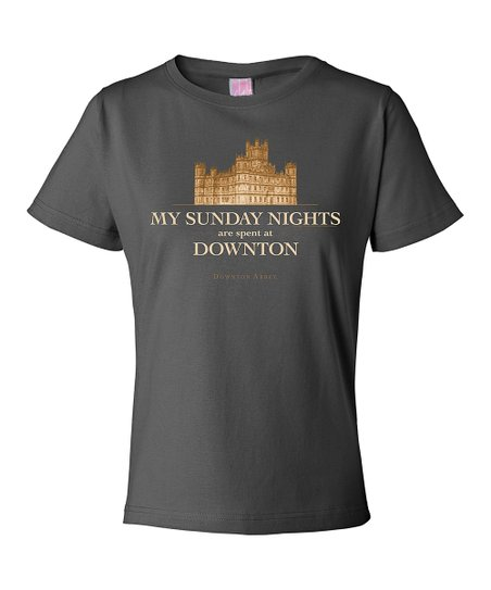 Charcoal 'My Sunday Nights' Tee - Women & Plus