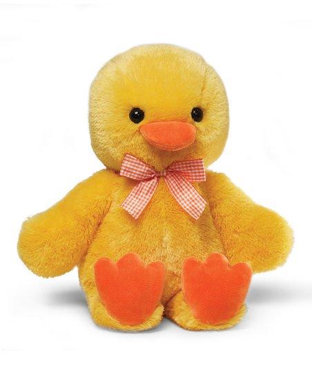 Fluffy Sunshine Duck Plush Toy