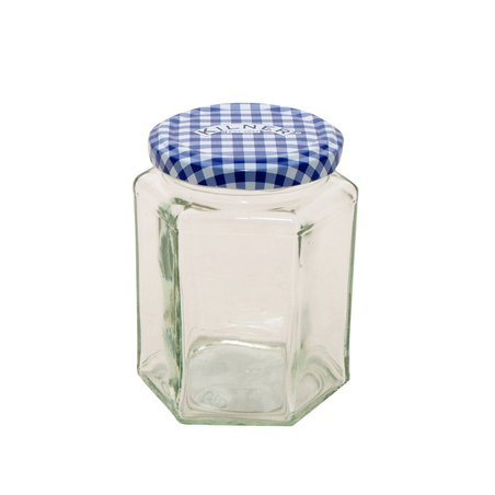 9.5-Oz. Hexagonal Twist-Top Jar - Set of 12
