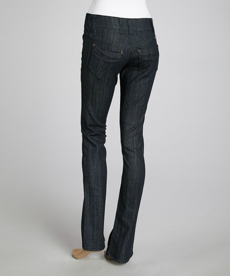 Dark Wash Indigo ReUnited Straight-Leg Jeans