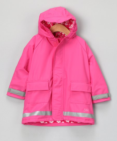 Hot Pink Lined Raincoat - Infant & Toddler