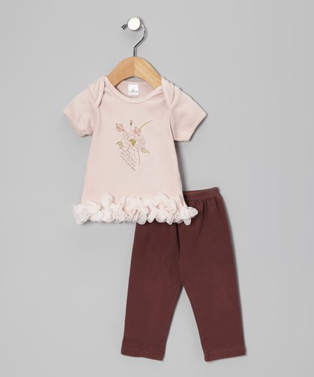 Blush & Raisin Pretty Posy Tee & Pants