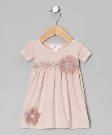 Pale Blush Bella Dress - Infant