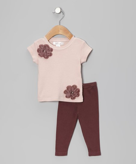 Blush & Raisin Annette Tee & Leggings