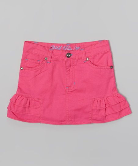 Pink Kite Ruffle Skirt - Toddler & Girls