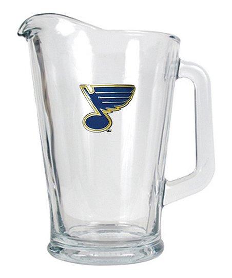 St. Louis Blues Glass Beverage Pitcher