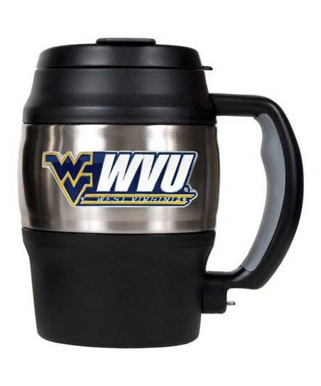 West Virginia Mountaineers Heavy-Duty Insulated Mug