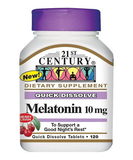 Melatonin 10 MG Quick Dissolve Supplement – Set of Two