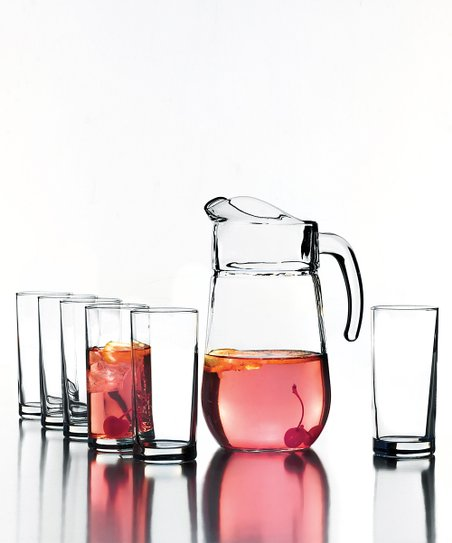 Soho Pitcher &amp; Beverage Set