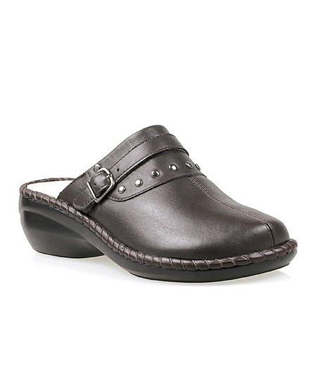 Bronco Brown Santa Barbara Leather Mule