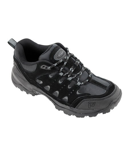 Black & Pewter Summit All-Terrain Leather Shoe