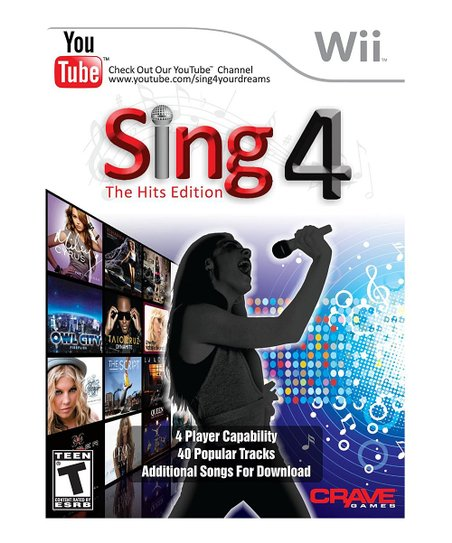 Sing 4: The Hits Edition & Microphone for Nintendo Wii