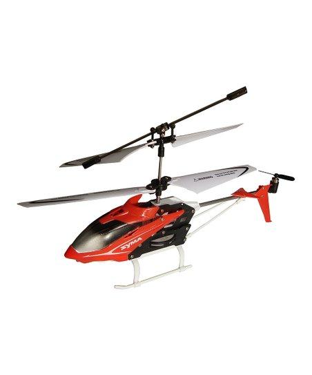 Red 'Syma' Mini Remote Control Helicopter