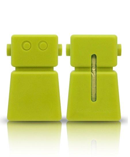Green Robot Waste Bag Dispenser