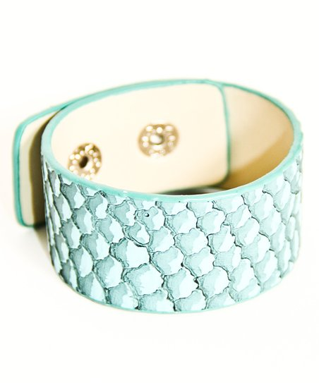 Blue Rattlesnake Cuff