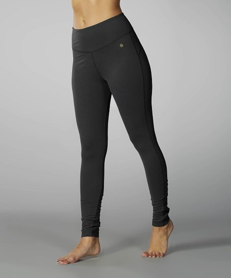 Black Tummy Control Dry-Wik Leggings