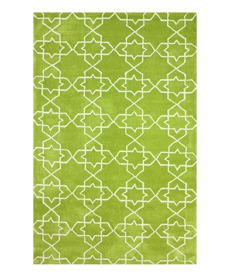 Green Liza Rug